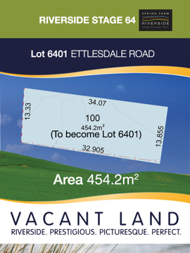 Lot 6401 - Stage 64 Riverside