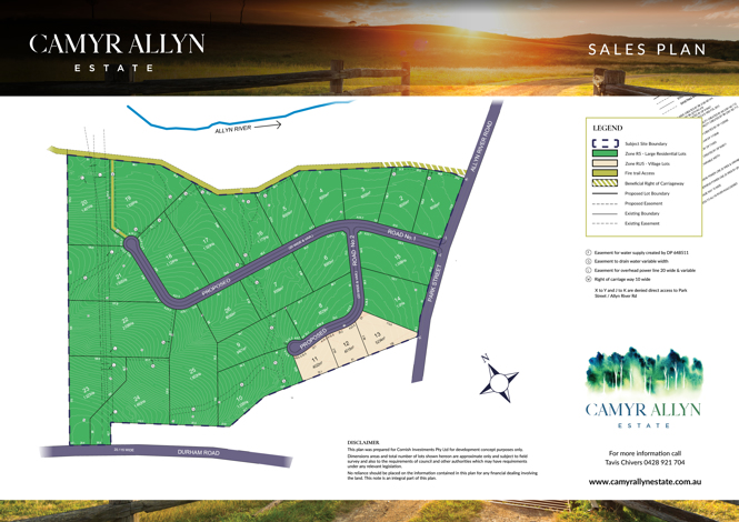 Camyr Allyn Estate Masterplan