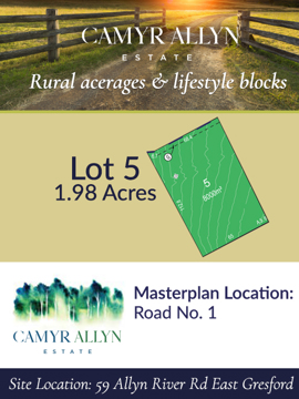 Lot 5 - Camyr Allyn Estate