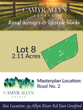 Lot 8 - Camyr Allyn Estate