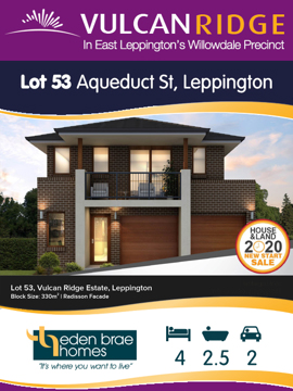 Lot 53 Aqueduct St ***UNDER OFFER***