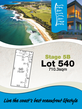 Lot 540 - Seascape Village