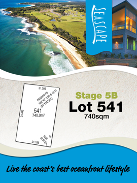 Lot 541 - Seascape Village